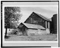 EXTERIOR, SOUTHEAST VIEW - Wood Block Masonry Barn, No. 2, Lena, Oconto County, WI HABS WIS,42-LENA,2-1.tif