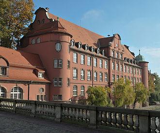 Fritz Beblo - École Saint-Thomas in Strasbourg (built 1905–1907)