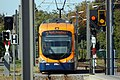 Edingen Bahnhof - Bombardier RNV6 - RNV 4152 - 2018-09-11 13-27-34.jpg