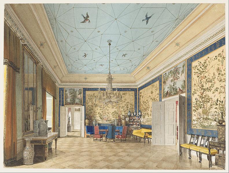 file eduard gaertner the chinese room in the royal. Black Bedroom Furniture Sets. Home Design Ideas