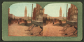 Effect of Earthquake on Market St. pavement. Ferry Bldg Tower in distance, San Francisco, from Robert N. Dennis collection of stereoscopic views.png