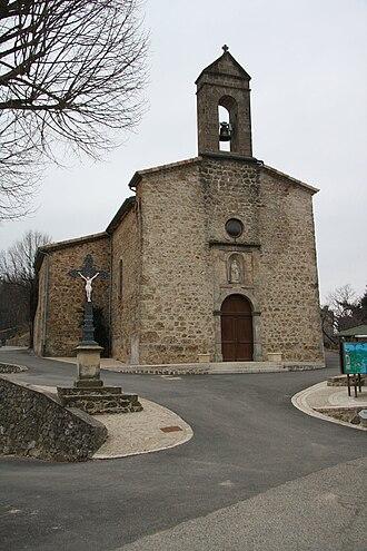 Saint-Joseph-des-Bancs - The church in Saint-Joseph-des-Bancs