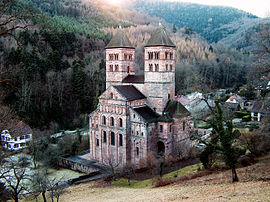 Romanesque church, Murbach Abbey