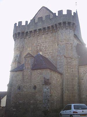 Bonnat, Creuse - Image: Eglise de Bonnat 1