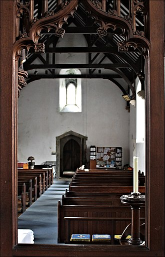 St Mary's Church, Beddgelert - Image: Eglwys y Santes Fair Beddgelert St Mary's church Gwynedd Wales 90