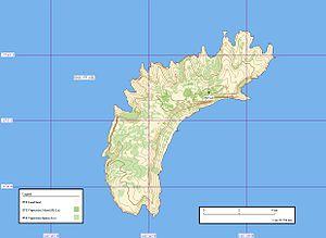 Eiao - Map of Eiao.