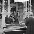 Einde van het feest vertrek Koninklijke gasten Fabiola en Boudewijn (Amstel-hote, Bestanddeelnr 913-8642.jpg