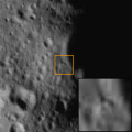 Ejecta block on 243 Ida.svg