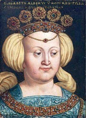 Elizabeth of Austria (1436–1505) - Portrait by Anton Boys (1579–1587)