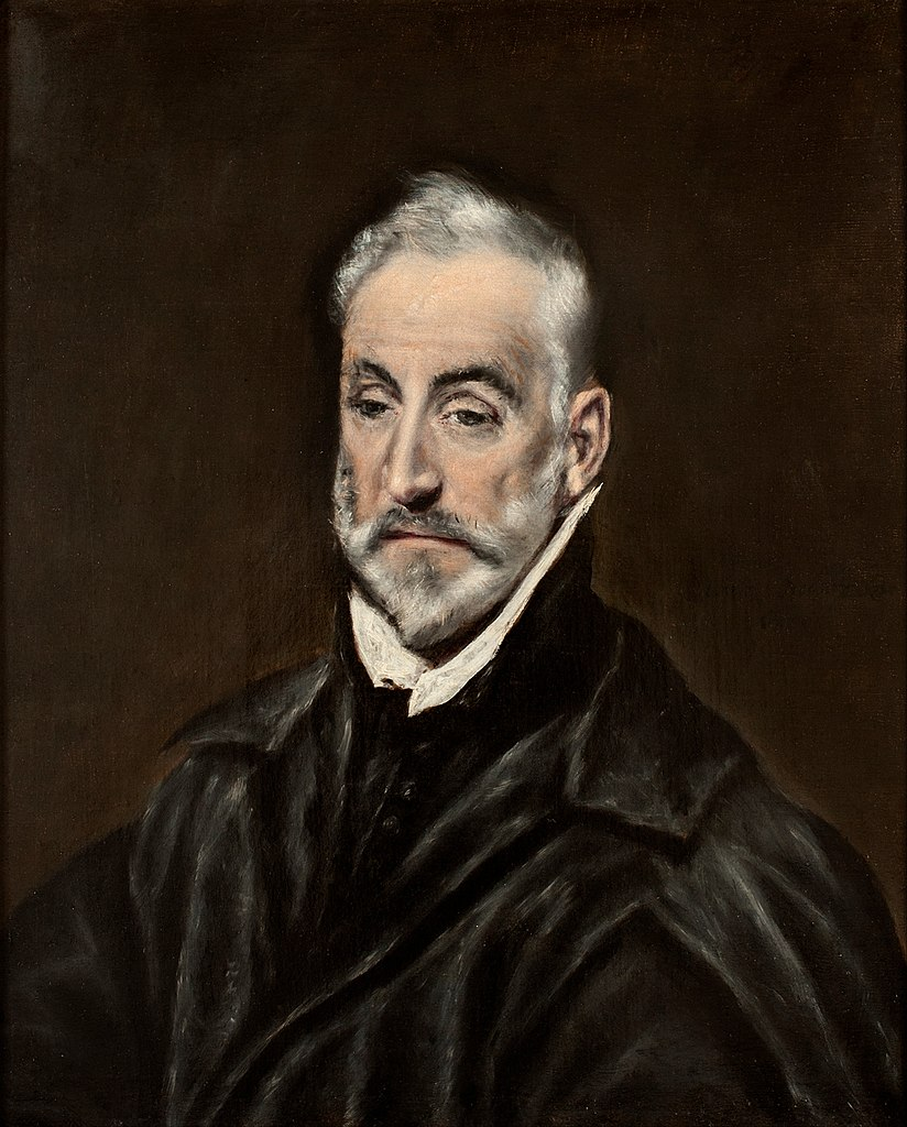 File:El Greco - Portrait of Antonio de Covarrubias ...