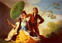 El quitasol, 1777.