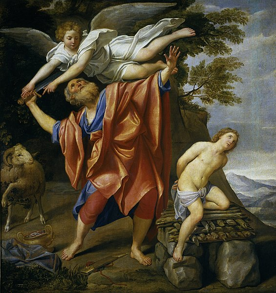 File:El sacrificio de Isaac (Domenichino).jpg