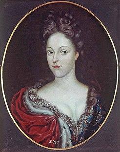 Margravine Eleonore Juliane of Brandenburg-Ansbach Duchess by marriage of Württemberg-Winnental