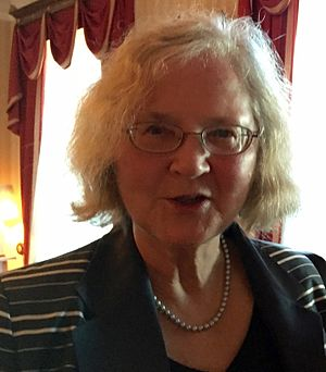 Elizabeth Blackburn - Elizabeth Blackburn (Nobel Prize in Medicine or Physiology 2009) in Stockholm, June 2016