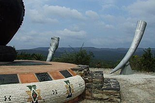 Emakhosini monument near Ulundi - Memorial to Zulu kings.jpg