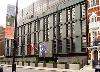 Embassy of Denmark, London - Image: Embassy of Denmark (London, UK June 2008)