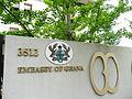Embassy of ghana sign1.JPG
