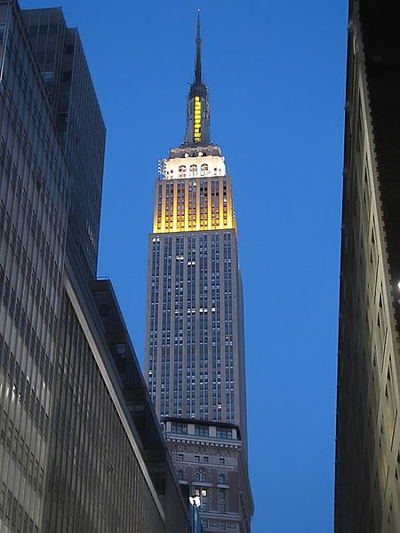 the empire state building description Known for its record-breaking height and sophisticated art deco style, the empire  state building is one of new york city's, if not the world's,.