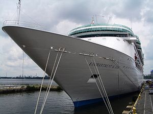 MS Enchantment of the Seas - Docked in Philadelphia, USA.
