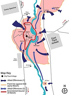 Encirclement Wartime situation in which a force or target is surrounded by enemy forces
