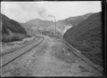 Entrance to the Pukemiro Coal Mine, Waikato ATLIB 239788.png