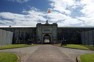 Spike Island, County Cork - Gates of Fort Mitchel on Spike Island