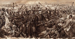 Second Schleswig War - The fighting at Sankelmark in February 1864