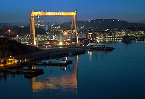 Eriksberg, Gothenburg - The Eriksberg crane