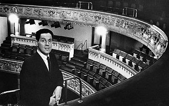 Erland Josephson - Josephson as newly appointed director of the Royal Dramatic Theatre in 1965.