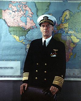 Admiral Ernest J. King, USN Commander-in-Chief, U.S. Atlantic Fleet.