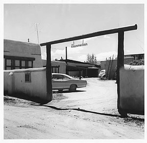 National Register of Historic Places listings in Taos County, New Mexico - Image: Ernest L. Blumenschein House