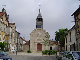L'église d'Esbly.