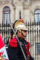 Escolta presidencial, Plaza de Armas, Lima, Perú, 2015-07-28, DD 41.JPG