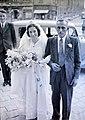 Esküvői fotó, 1949 Budapest - Fortepan 105428.jpg