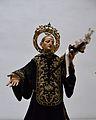 Estàtua de Gaspar de Bono a la seua capella de l'església de sant Sebastià, València.JPG
