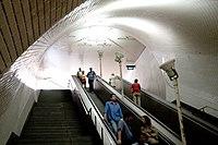 1992-98: Esta��o do metro Baixa-Chiado, Lisboa.