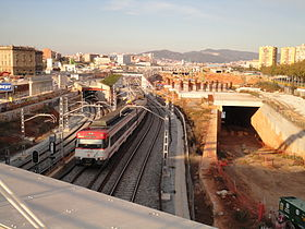 Image illustrative de l'article Gare de Barcelone-Sagrera TAV