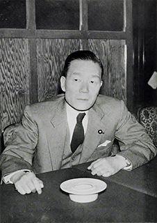 Etsusaburo Shiina Foreign Minister of Japan for 1964–66