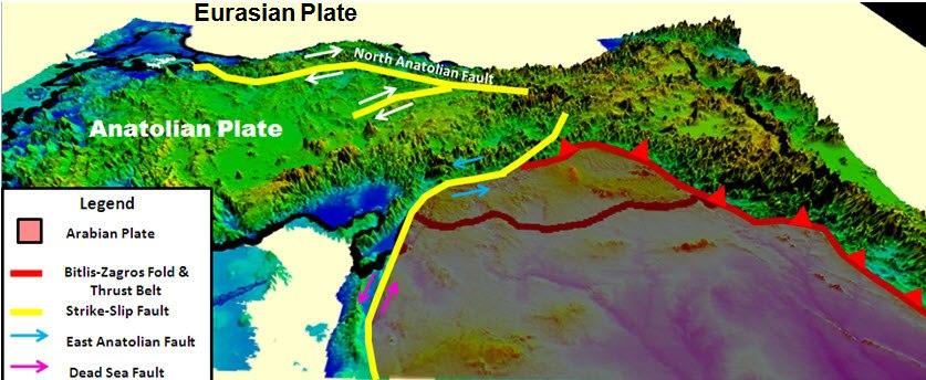 Eurasian & Anatolian Plate