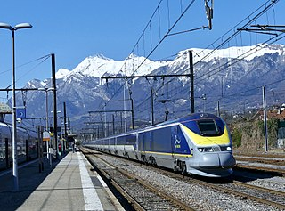 Eurostar International high-speed railway service connecting the United Kingdom with France, Belgium & The Netherlands
