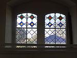 Evangelische Kirche Trais-Horloff Fenster Empore nach Westen 01.JPG