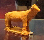 Ex-voto della collezione ricci busatti, bovino, III-II sec. ac. 01.jpg