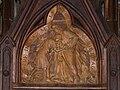 Excideuil église confessionnal décor.JPG