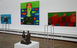 Exhibition Belarusian Sculpture XXI in Palace of Art 20.05.2014 01.jpg