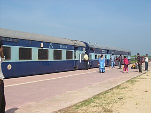 Digha - Express Train at Digha Station