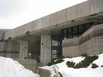 Massachusetts Archives - The Massachusetts Archives building