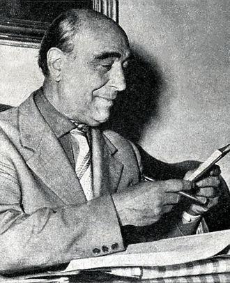 Ezio Carabella - Ezio Carabella in 1955