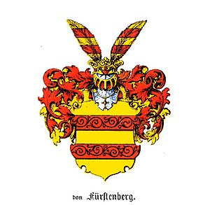 House of Fürstenberg (Westphalia) - Original coat of arms of the family