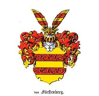 House of Fürstenberg (Westphalia) - Original coat of arms of the family