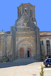 The church in Vouvant